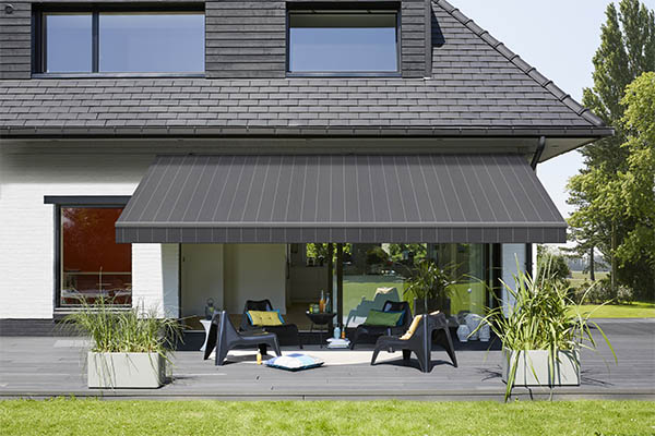 Designer awning fabrics to enhance your building exteriors