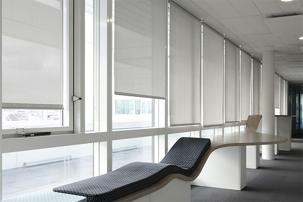 Screen fabrics for vertical indoor and outdoor blinds