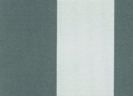 Sunbrella Yacht stripe charcoal grey 3723