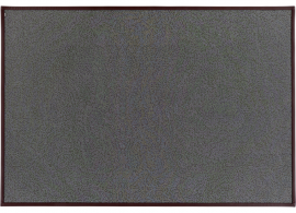 Alfombra tejida Cosmos  J512 with faux leather border 0671