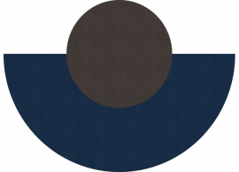 Vinyl Rug Eclipse Wave Mirage J525/Mirage J549