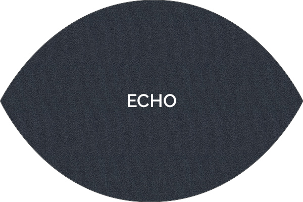 Dickson Echo woven vinyl rug from the Classic range