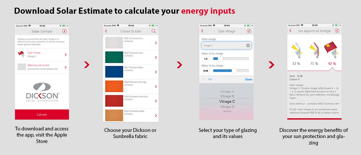 Steps to calculate energy inputs with Solar Estimate