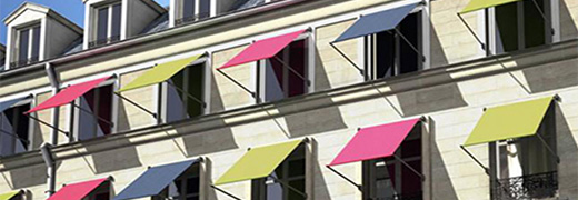 How does an outdoor awning save you energy?