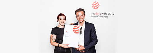 "Dickson wins ""Best of the Best"" Red Dot Award for the innovative design of its new collection of woven vinyls"