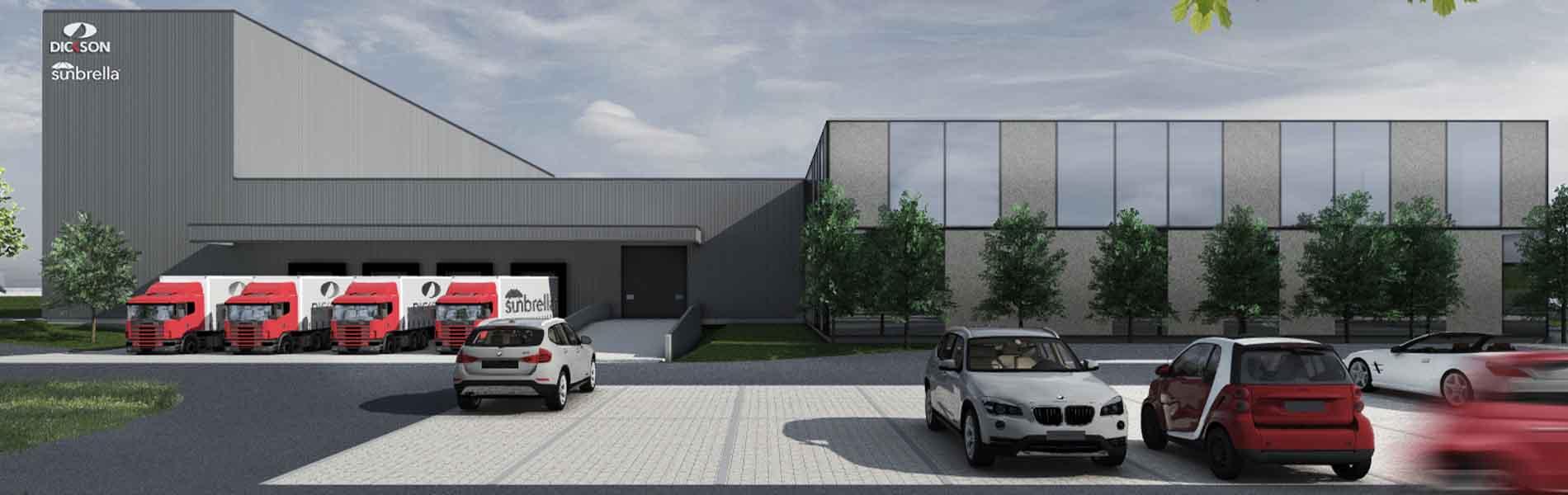 Dickson vit une étape clé dans son développement avec la création d'un second site industriel