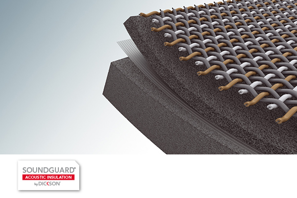 Exceptional acoustic insulation capabilities