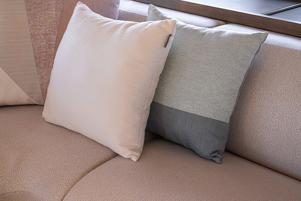 Tissus pour assises et coussins