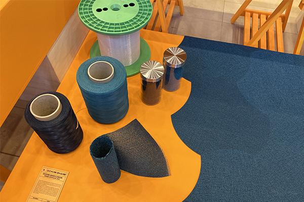 Le Dickson Woven Flooring s'expose sur Dépliages
