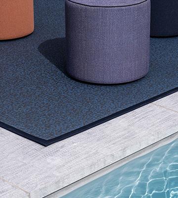 Gewebte Vinylbodenbeläge und Teppiche