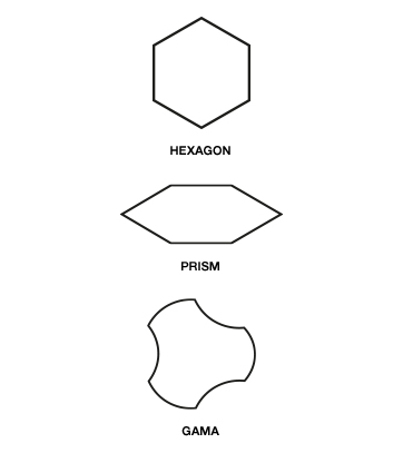 NON COMBINABLE SHAPES