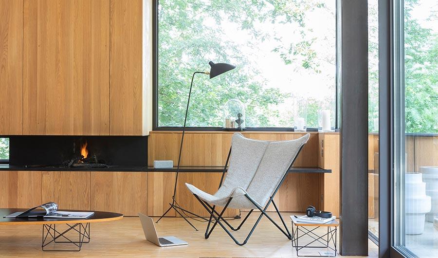 Butterfly-stoel