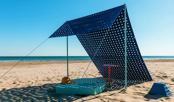 Design on the beach