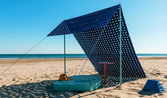 Design am Strand