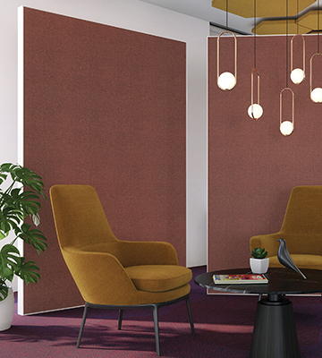 Micro-perforated acoustic fabric
