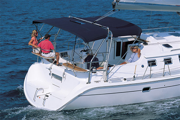 Boat protective fabric