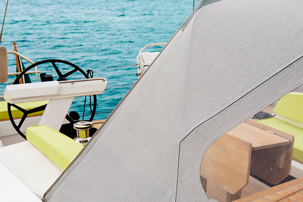 Set sail with total peace of mind with our Sunbrella® marine fabrics