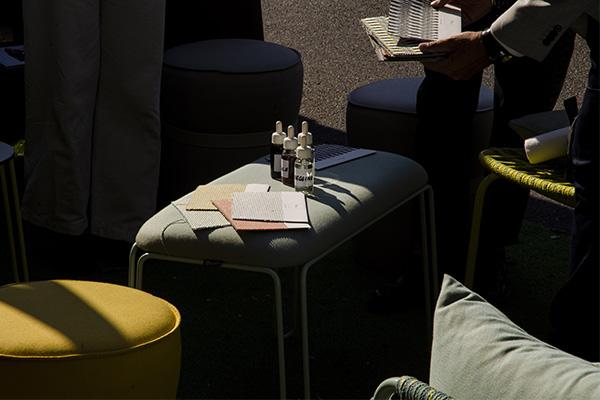 test mobilier sunbrella intérieur