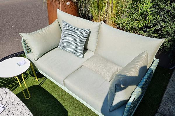 mobilier Connubia en tissus Sunbrella