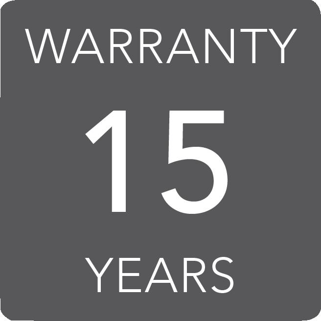 15 lat gwarancji
