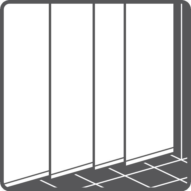 Separation panels