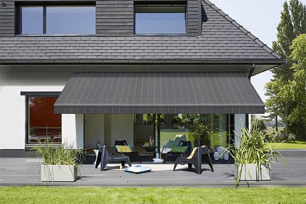 Designer awning fabrics to enhance your building exteriors