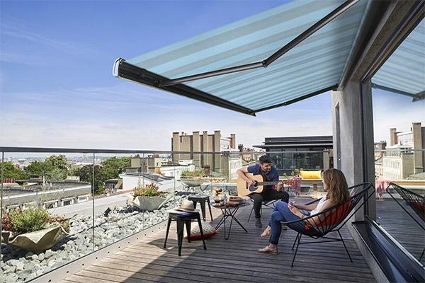Waar kunt u een terrasoverkapping installeren ?