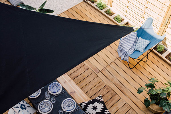 Mounting your shade sail