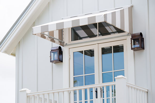 Fitting your fixed awning