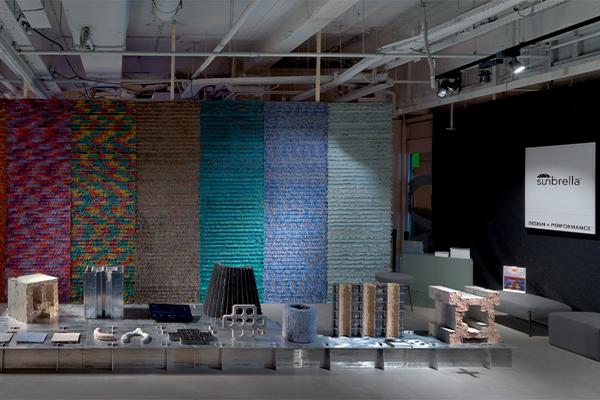 """Installation """"Hard Selvedges"""", Dutch Design Week, 2019"""