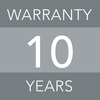 10 years warranty image