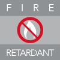 Fire retardant image