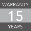 15 years warranty image