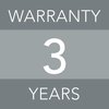 3 years warranty image