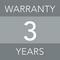 3 years warranty image